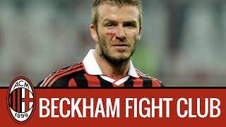 Ac Milan Fight Club with David Beckham