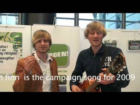 A Green New Deal, campaign song for the European Green Party in 2009