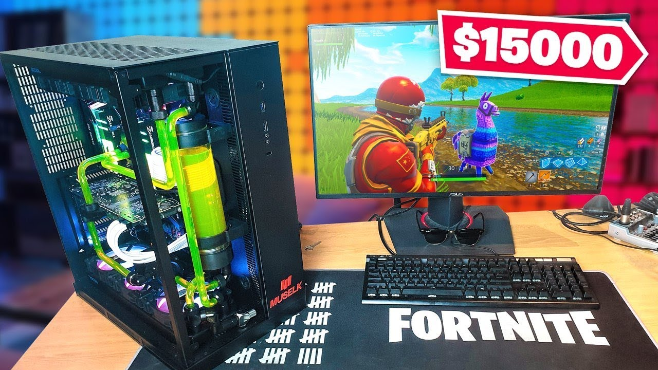 My $15,000 FORTNITE GAMING SETUP!