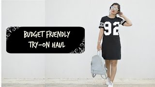 BUDGET Friendly Try-on HAUL!!! | Reliance trends + Ajio + Max Fashion