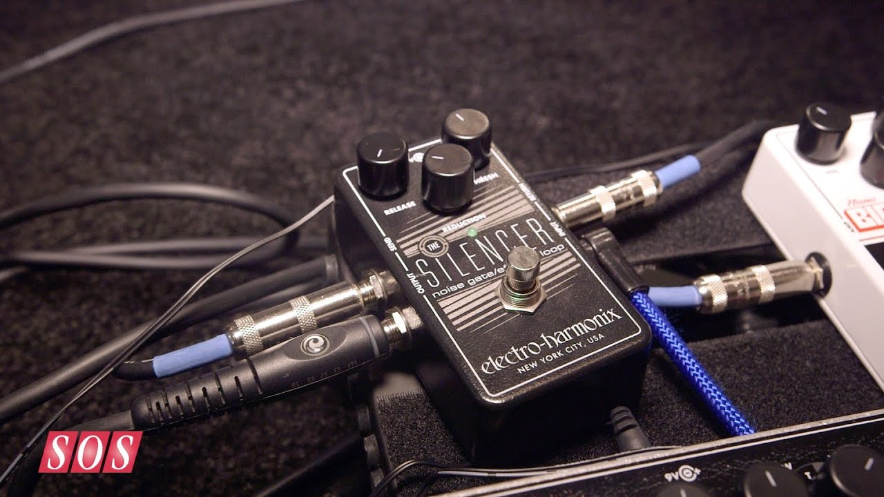 Noise Gate Effects Loop NEW EHX Electro Harmonix The Silencer