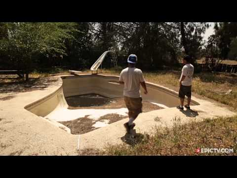 Skating The Best Of Fresno's Abandoned Pools With Ryan Johnson | Pool Nation, Ep. 7
