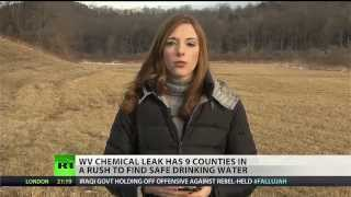 Major chemical leak causing panic in West Virginia