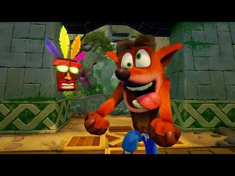 Crash Bandicoot N. Sane Trilogy (PS4) (Crash 1) Longplay Part 1