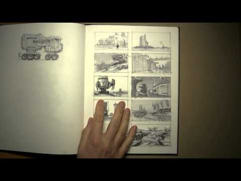 sketchbook tour 2 with Neville Page
