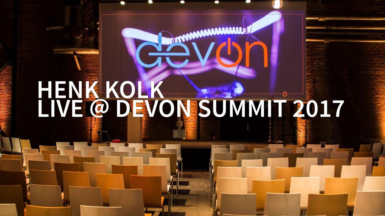 Henk kolk the last agile mile devon summit 2017