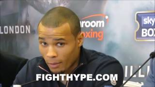 CHRIS EUBANK JR. EAGER TO FACE GENNADY GOLOVKIN & EXPLOIT HOLES; VOWS TO MAKE STATEMENT VS. DORAN