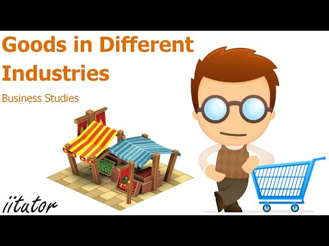 √ Goods in different industries | Business Studies | iitutor