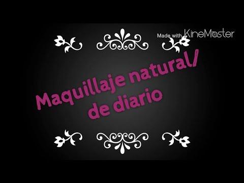 maquillaje natural para diario