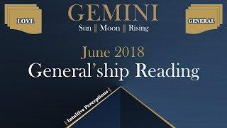 GEMINI 🎂  Allow The Co-Creator Partnership! June 2018 Love & General Tarot Reading