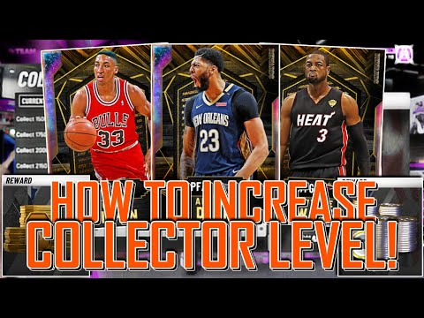 HOW TO INCREASE YOUR COLLECTOR LEVEL TIPS & TRICKS! (NBA 2K20 MYTEAM)