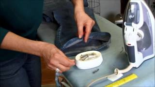 How To Hem Jeans - 30 Years of experience