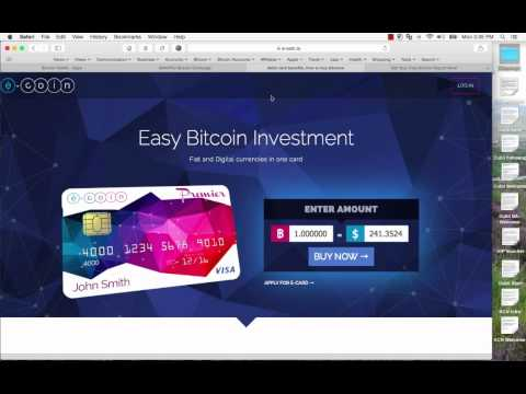 Bitcoin Debit Card - How To Get One