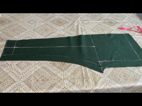 Ladies pant trouser cutting and stitching | trouser cutting and stitching