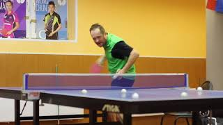 Table Tennis - тест-задание на отработку подачи