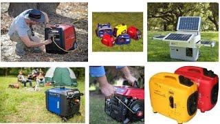 Reviews: Best Generators for Camping  2018