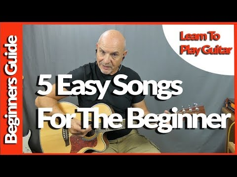 5 Easy Guitar Songs For Beginners To Learn On Guitar