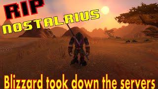 Nostalrius shutdown by Blizzard | Final march of the horde