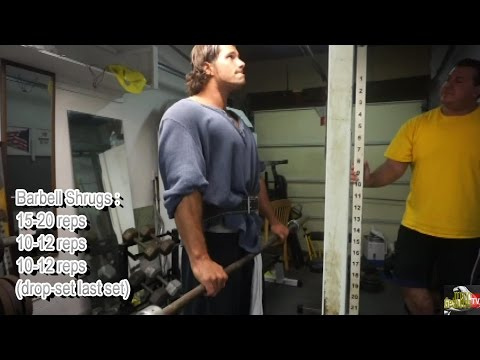 CONNOR MEES Full Old-School Shoulder Day w/ JEFF RICCARDI !