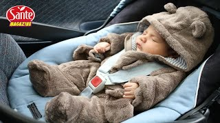 Un couple découvre un nouveau-né seul dans une voiture avec un message – Ils sont déchirés !!!