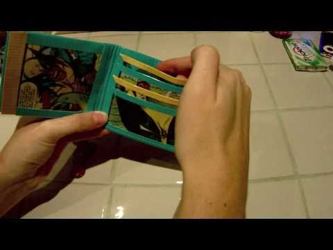 Woven Wolverine Duct Tape Comic Wallet