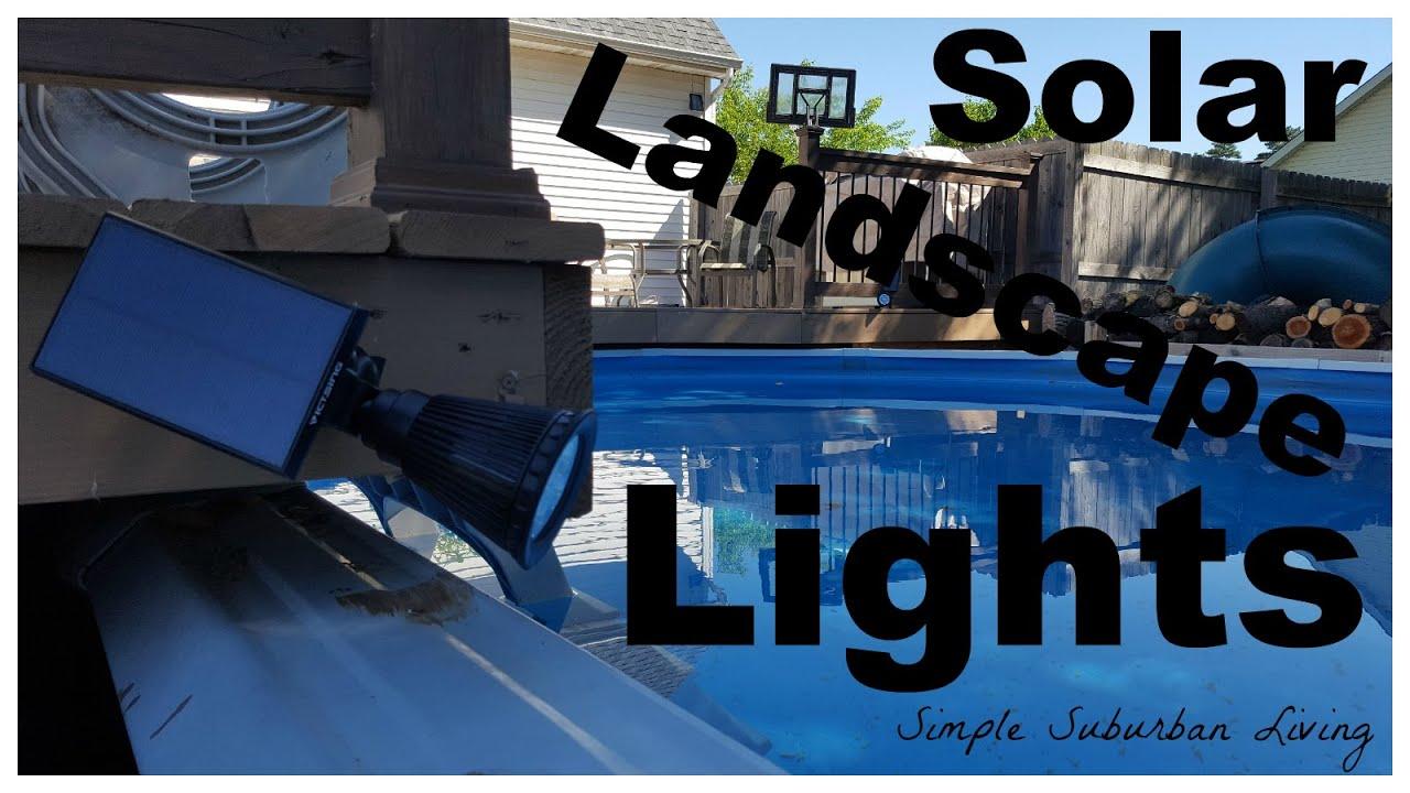 best solar landscape lights youtube