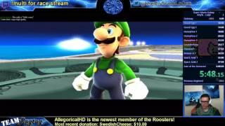 Mario Galaxy Luigi Any% Speedrun 2:57:41