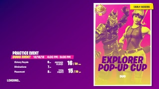 Explorer Duo Pop Up Cup! 805+ Wins Decent Console Player