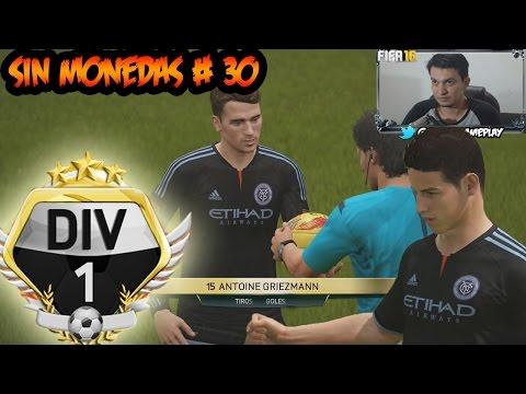 FIFA 16 - El Partido por el Titulo y Paso a Primera División - Griezmann el maestro de la Definición