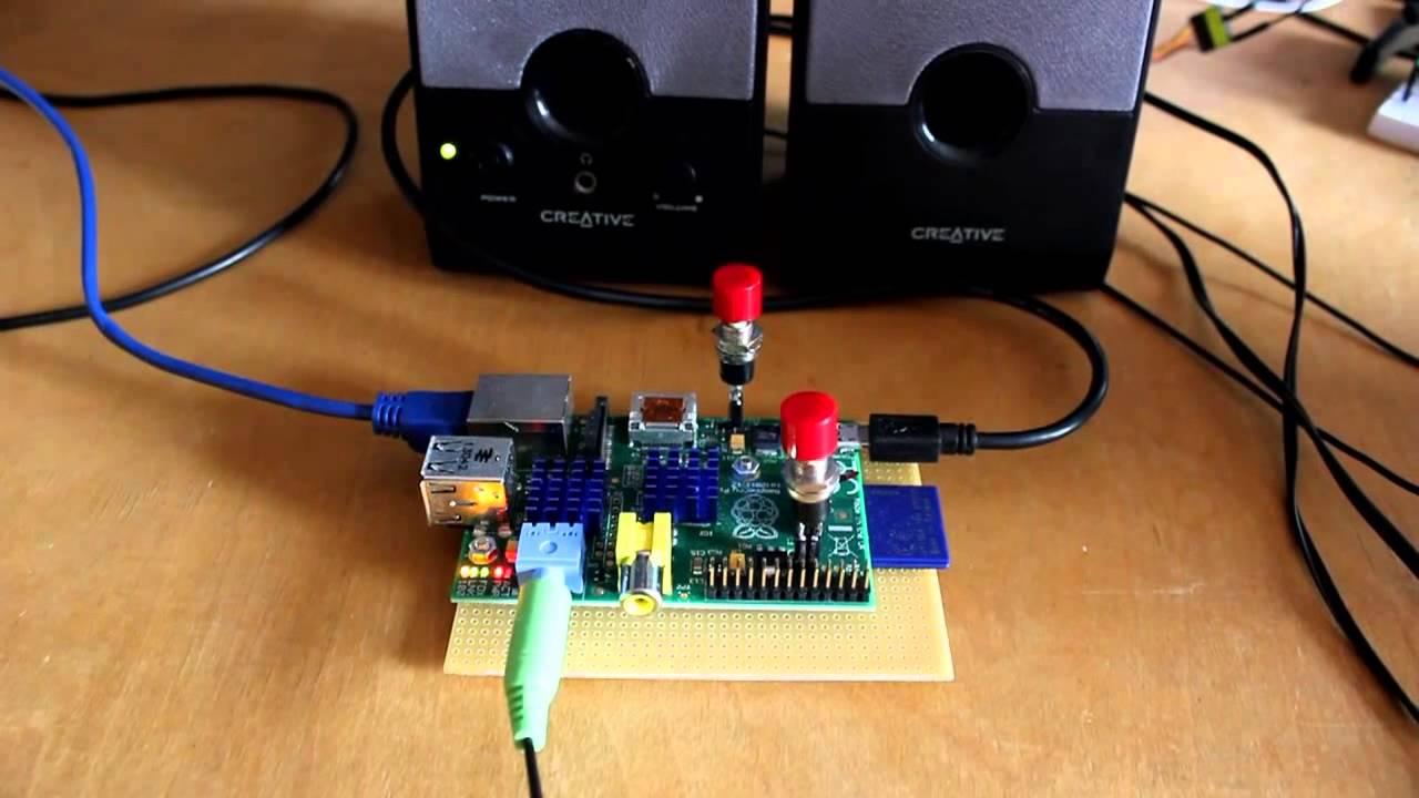 IP via audio at boot of Raspberry Pi