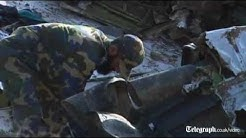 Pakistan plane crash: 'it burst in the air'