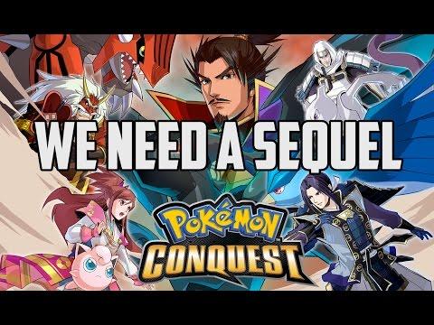 We need Pokemon Conquest 2 (Pokemon Conquest Sequel)