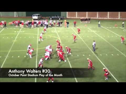 Anthony Walters Play of the Month