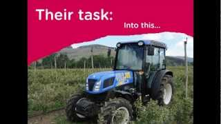 GeoSculptures: How to make a Geobar Tractor!