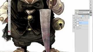 How to draw a Dickens Kobold 2012 - with JB Monge - Part 2