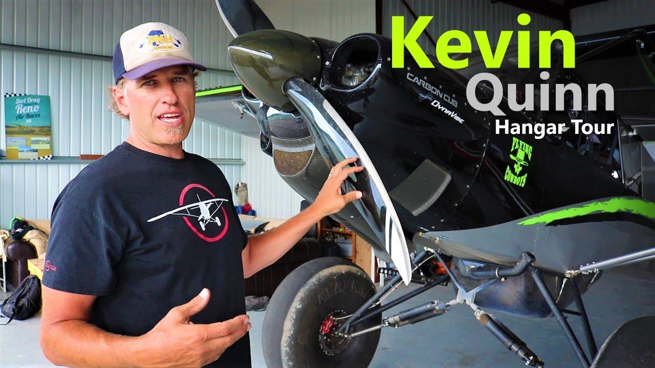 Carbon Cub FX - Kevin Quinn Hangar Tour!