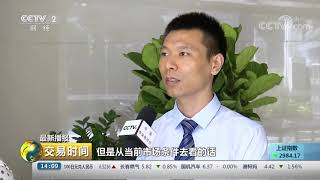 《交易时间(下午版)》 20191016| CCTV财经