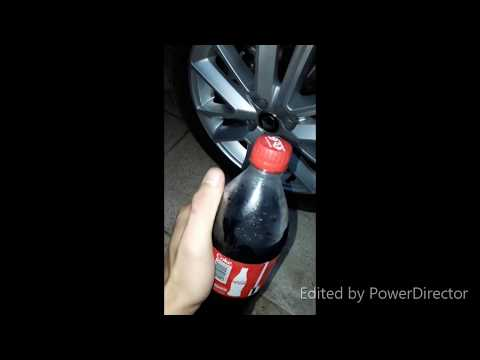 Coa cola DIY How To Clean The Car Tires.
