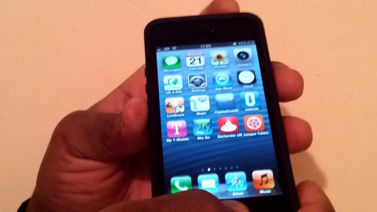 how to screenshot on iphone 5 how to take a screenshot on the iphone 5 19071