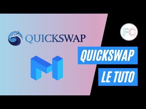 Le tuto : Quickswap | Matic Network