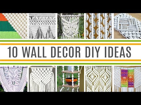 10 Macrame Wall Decor DIY Ideas For Home Decoration