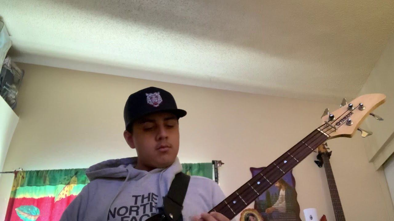 Junior H - El Famoso Chin0 Antrax (bass cover)