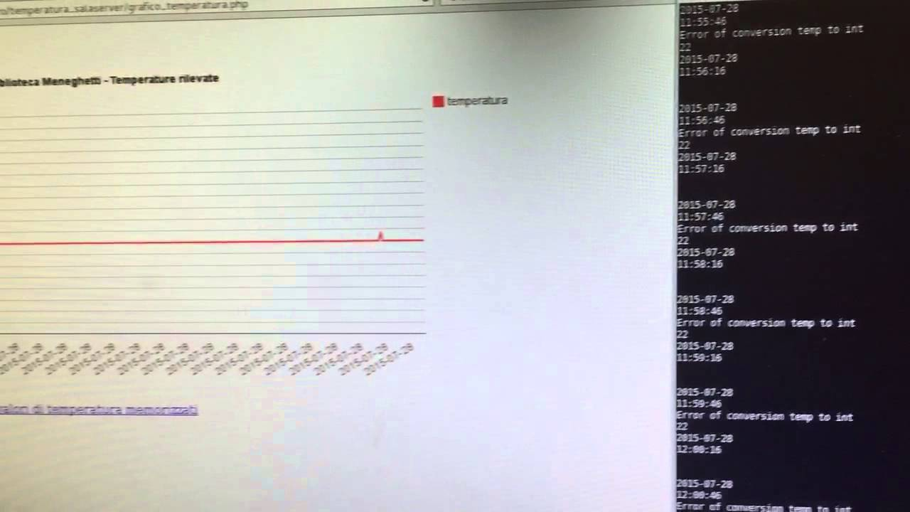 Arduino dht temperatture logging system youtube