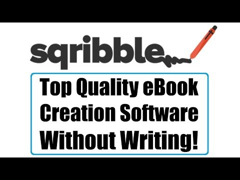 Sqribble Review Demo Bonus - Top Quality eBook Creation Software Without Writing