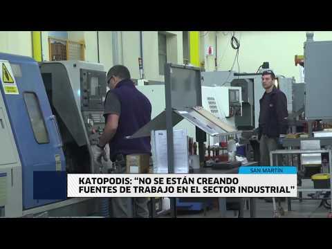 """KATOPODIS: """"NO SE ESTÁN CREANDO FUENTES DE TRABAJO EN EL SECTOR INDUSTRIAL"""""""