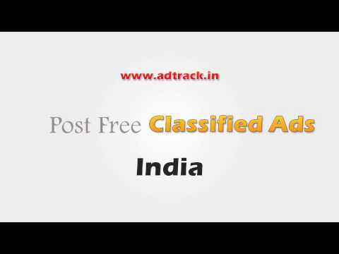 Free Ads in India, Free Classifieds in India and Online Advertising - Ad Track