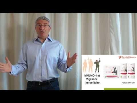 Immuno4 est un complément alimentaire stimulant de l'immunité naturelle
