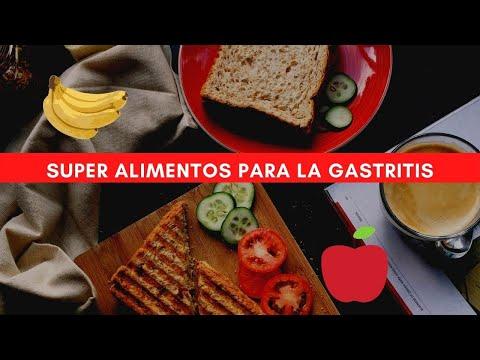 Alimentos permitidos para la gastritis