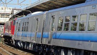 【川重甲種】2021/1/20 8561レ JR東日本GV-E400系甲種輸送EF510-7+GV-E400系4両 茨木通過