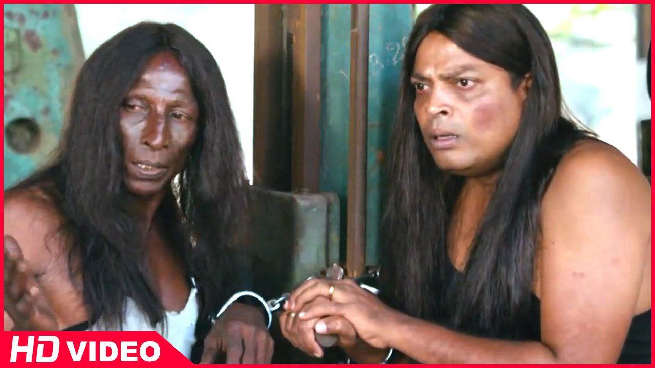 Download Thirudan Police Tamil Movie - Attakathi Dinesh tortures Rajendran and John Vijay
